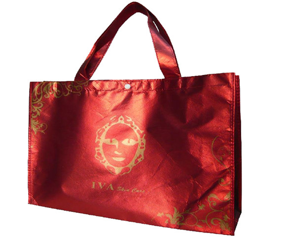 Aluminum plated steel bag-red