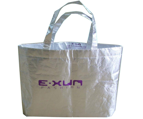 Aluminum plated steel bag-silver