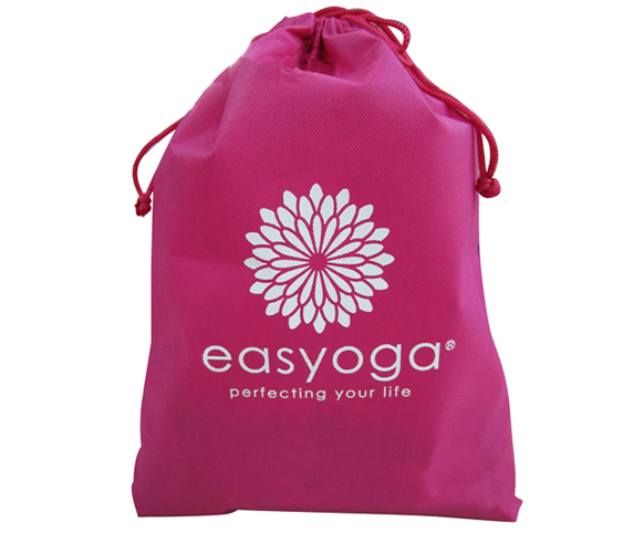 Custom logo printing drawstring bag