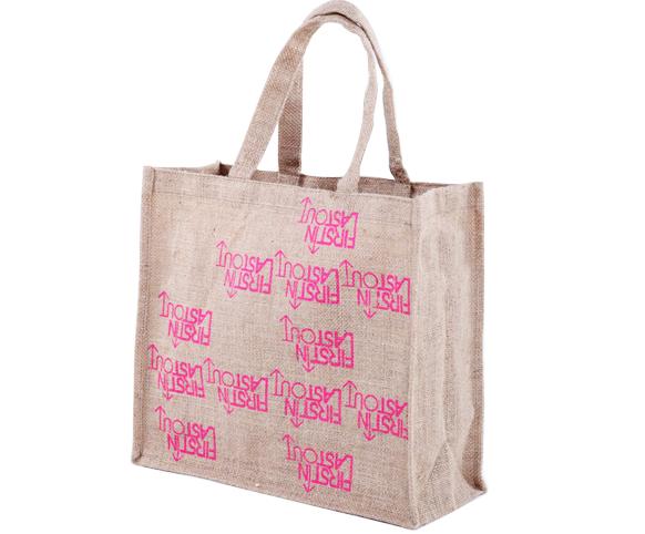Fashion sack jute bag for packing