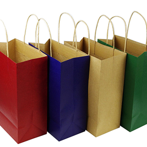 Kraft Paper Bag &Shopping Bag With Paper Handle
