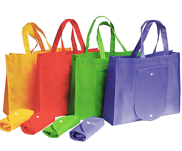 Recycled Promotional Folding Bag