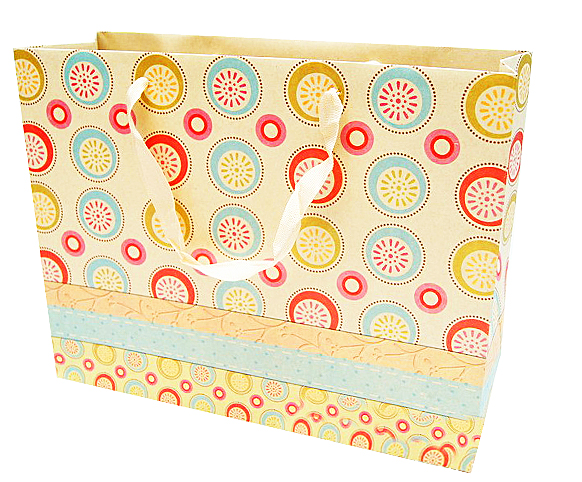 custom cheap handmade gift kraft paper bag
